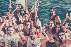 boat party Málaga
