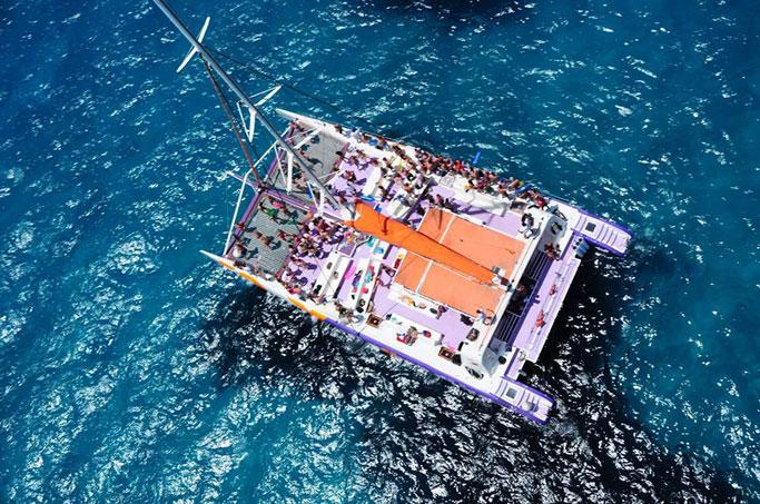 despedidas de soltero en catamaran málaga